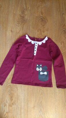 Bluzka H&M fiolet dla dziewczynki TYLKO 10zł!