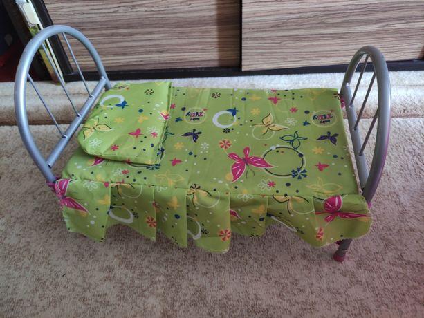 Кроватка для кукол кукольная кровать