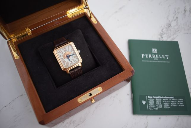 Perrelet Rectangle Royale Limited Edition full Gold