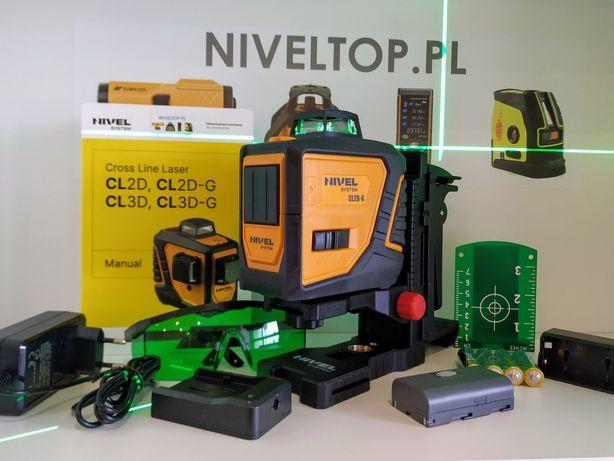Laser NIVEL system CL2D-G płaszczyznowy 2x 360 krzyżowy liniowy