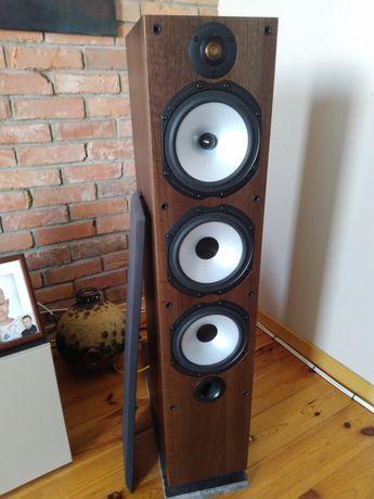 Monitor Audio MR6 kolumny podłogowe kolce maskownice