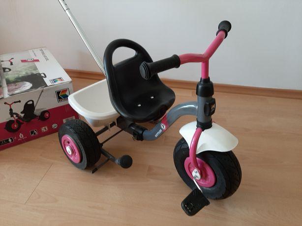 J.Nowy rowerek trójkołowy Kettler Toptrike Air Girl