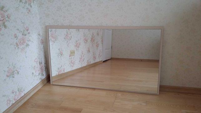 Зеркало длина 1м., ширина 56см.