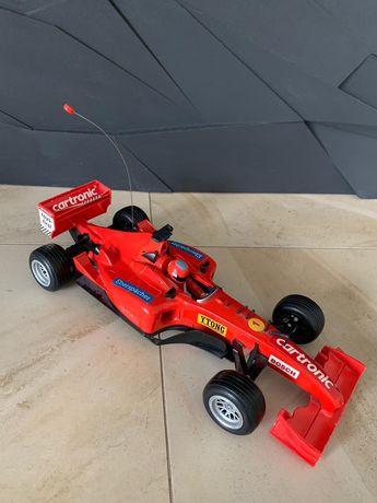 Samochód formuła 1 czerwona cartronic autko