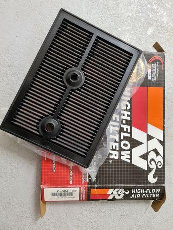 Filtr powietrza K&N 33-3004 skoda vw seat audi +zestaw do czyszczenia