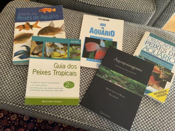 Livros aquariofilia