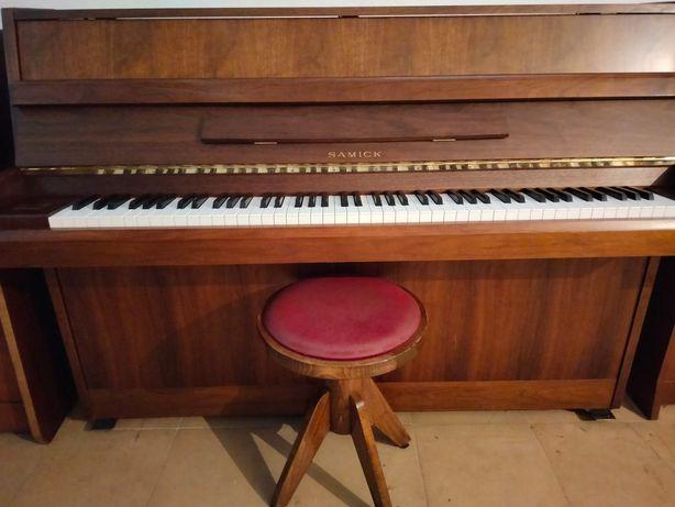 Piano vertical Samick OFERTA TRANSPORTE e Afinação