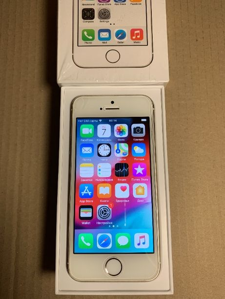 iPhone 5s / 16Gb / Gold / Neverlock