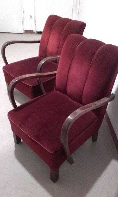 Fotele art deco kpl 2 szt