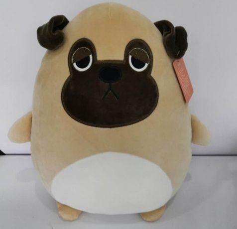 """М'яка іграшка, подушка  B1023/1022 """"Собака"""" 40 см, 2 види"""