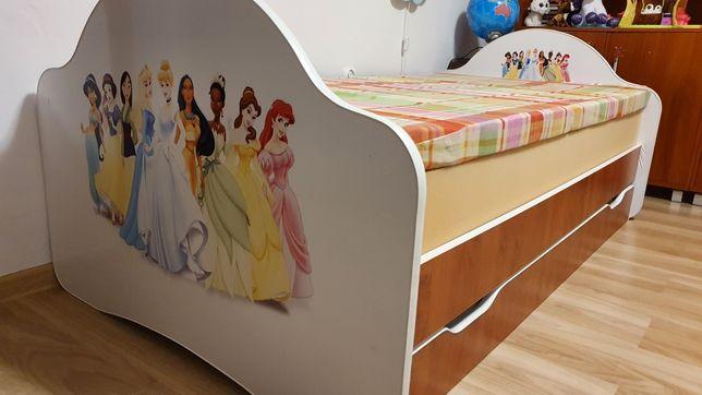 Łóżko dziecięce dla dziewczynki księżniczki Disney
