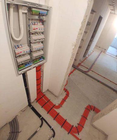 Электрик, электромонтаж квартир-офисов