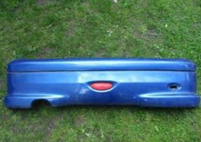 Zderzak tył i dach szyba peugeot 206cc KMF EXL