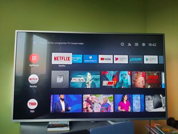 telewizor LED Philips 55 cali 4K UHD ANDROID