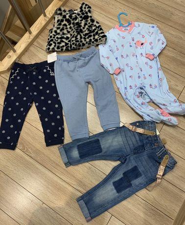 Nowy zestaw ubranek dla dziewczynki calvin Klein, Next itp