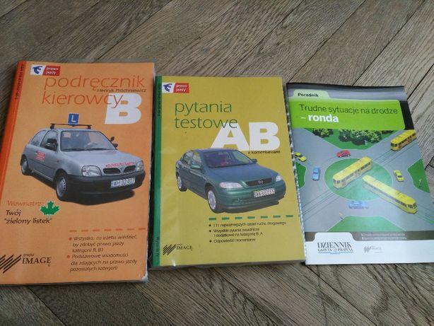 podręcznik kierowcy nauka jazdy kat. B pytania testowe poradnik