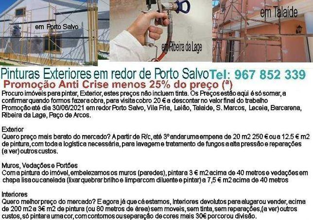 Promoção até dia 30/09/2021 em redor Porto Salvo