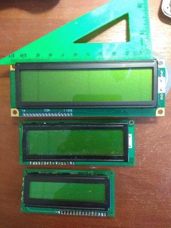 ЖКИ LCD Дисплей 1602 16x2 для Arduino (120мм)