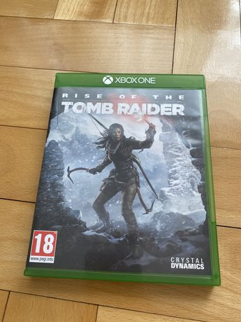 Rise of The Tomb Raider xbox one na płycie