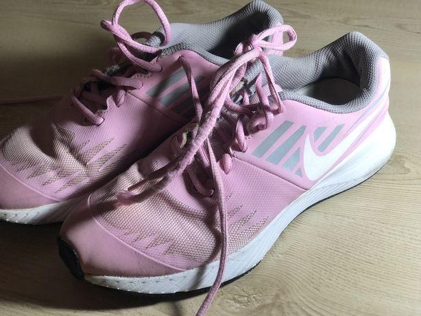 Кроссовки nike розовые 24 см 38-38,5.бег,фитнес.