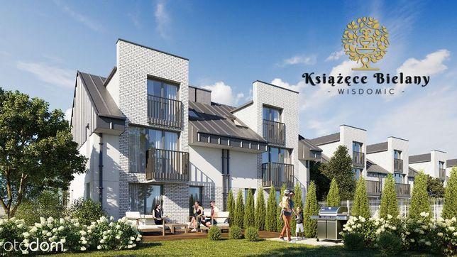 Książęce Bielany, 60 m2, 3-pokojowe, MEGA ogródek,