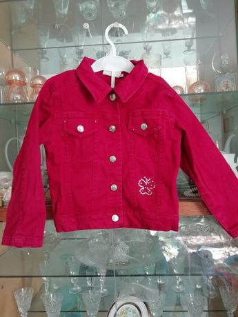 Куртка джинсова р.110