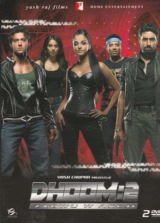 DHOOM2 dvd