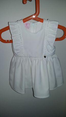 LaMere Pure Sun sukieneczka do chrztu roz 68 zestaw