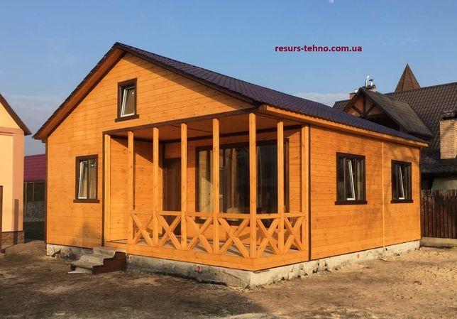 Дачные домики из дерева. С нашими ценами доступны