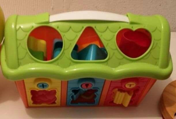 Domek klocki dla 2 latkow