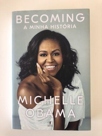 """""""A Minha História"""" de Michelle Obama"""