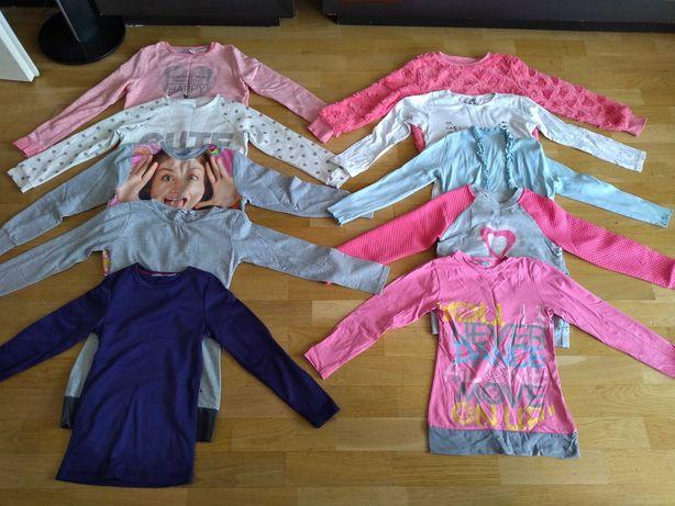 Ubrania dziewczynki 122-128