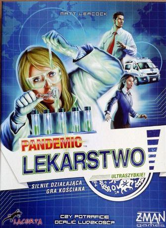 Pandemic Lekarstwo Gra Planszowa
