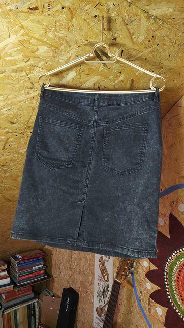 Spódnica jeansowa Mohito