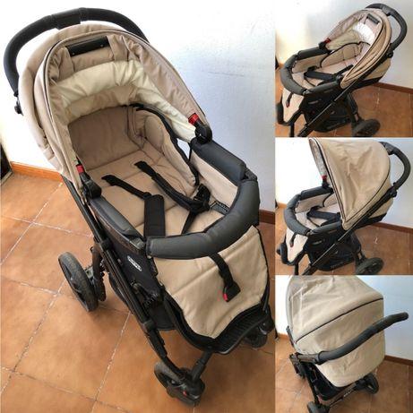 Trio Bébécar - Cadeira de passeio, Alcofa e Cadeira de automóvel