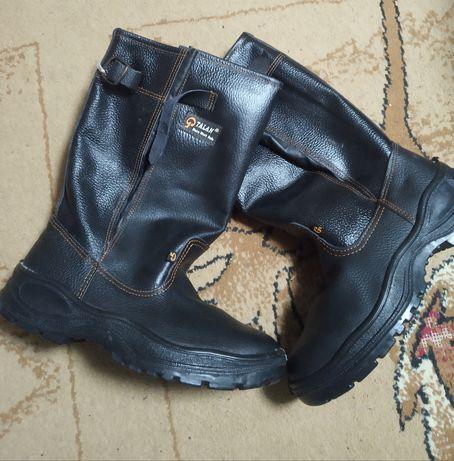 Сапоги рабочие, ботинки новые