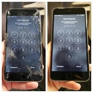 WYŚWIETLACZ DOTYK ramka szybka wymiana Iphone 5 5s 6 6s 6+ 6s+ SERWIS