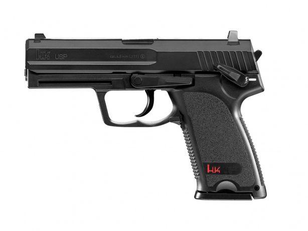 Pistolet wiatrówka H&K Heckler&Koch USP 4,5 mm BB CO2