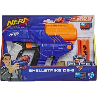 Nerf Elite. Nerf Elite Shellstrike DS-6. Nerf. Нерф Елит.