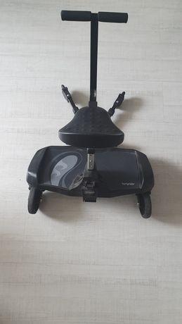 Dostawka do wózka z siedziskiem bumprider