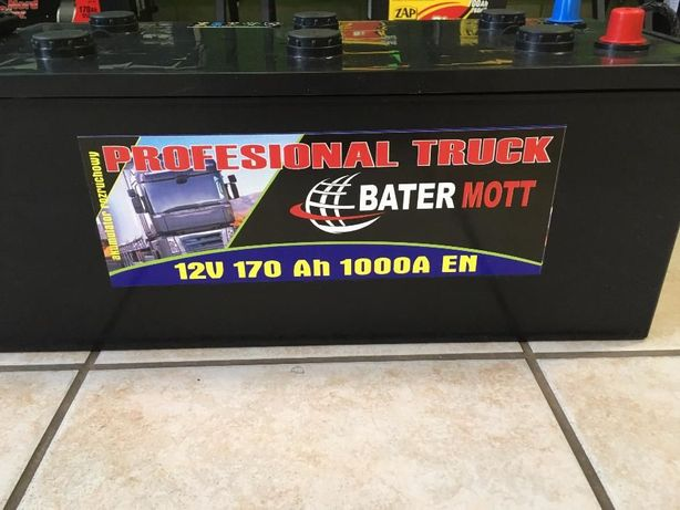 Akumulator BATERMOTT 170Ah 1000A dla rolnictwa!!! Najniższa cena!!!