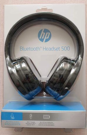 Słuchawki bezprzewodowe HP 500 nowe