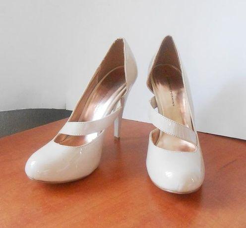 Асимметричные лаковые туфли на шпильке Dorothy Perkins, р.40 код k4103
