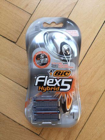 Bic maszynka Flex 5 Hybrid rączka + 2 ostrza