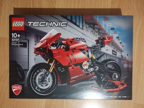 Nowe LEGO - Technic - Ducati Panigale V4 R - 42107 - Plomby