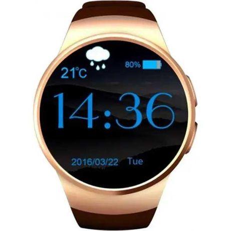 Умные часы Smart Watch Kingwear KW18 6951 Золото