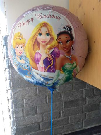 Princesas Disney balões para festa de aniversário