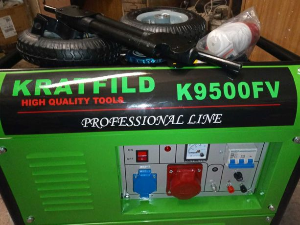 Sprzedam nowy agregat prądotwórczy KRATFILD K9500FV