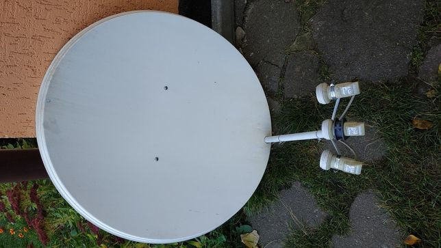 Тарелка спутниковая с ресивером