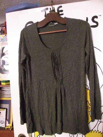 Blusa marca VENCA em algodão cor cinzenta p/ senhora tam 38